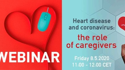 Webinar on Supporting carers of people with heart disease during the coronavirus era.