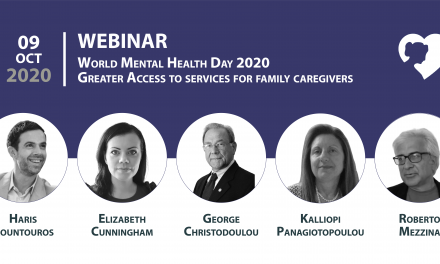 Webinar on the occasion of the European Carers Day and the World Mental Health Day