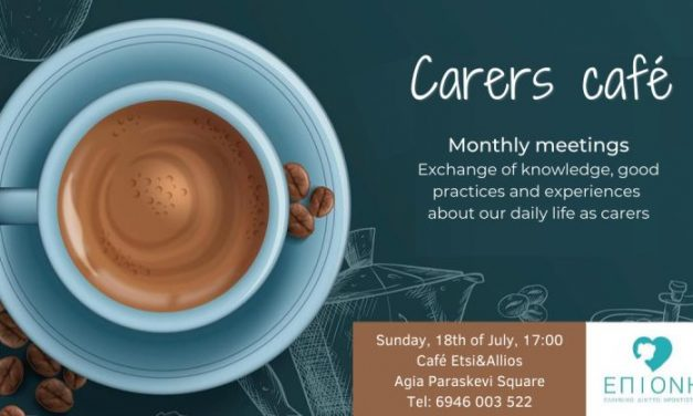 Carers Cafe in Athens