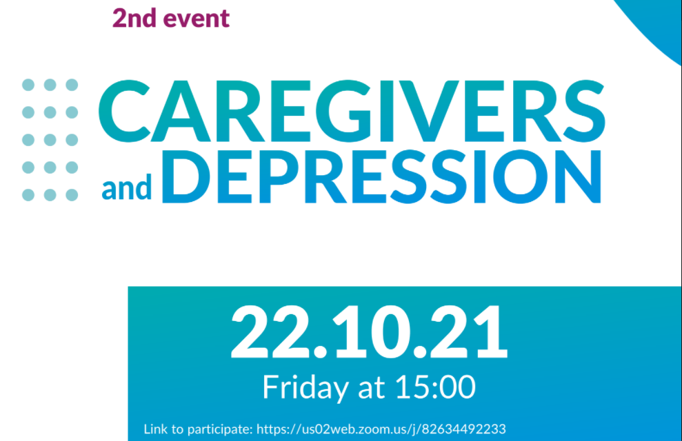 """Event about """"Caregivers and Depression"""" on 22 October 2021"""